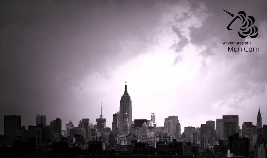 View Manhattan clowdy