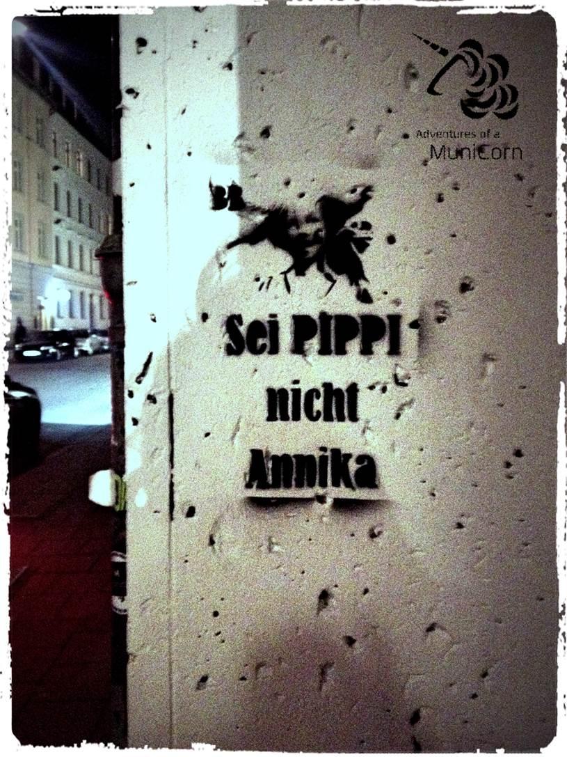 Sei Pippi nicht Annika