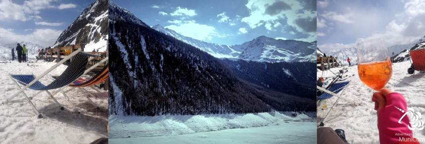 Schnalstal Gletscher im April