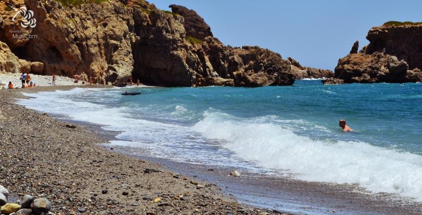 beach in sougia