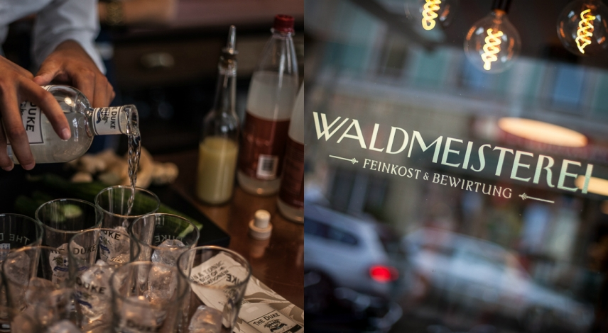gin at waldmeisterei munich