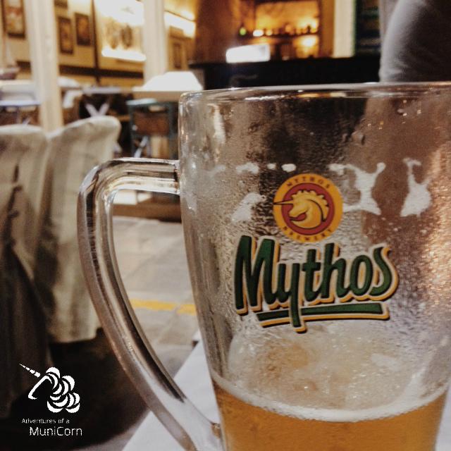 mythos beer greece