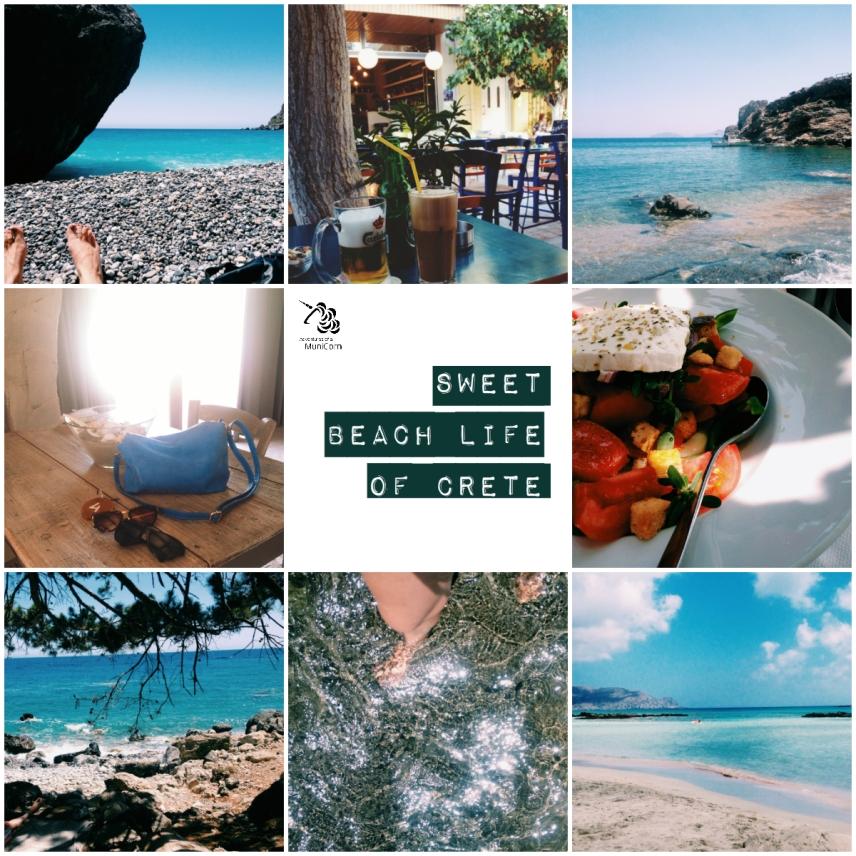 beach life of crete