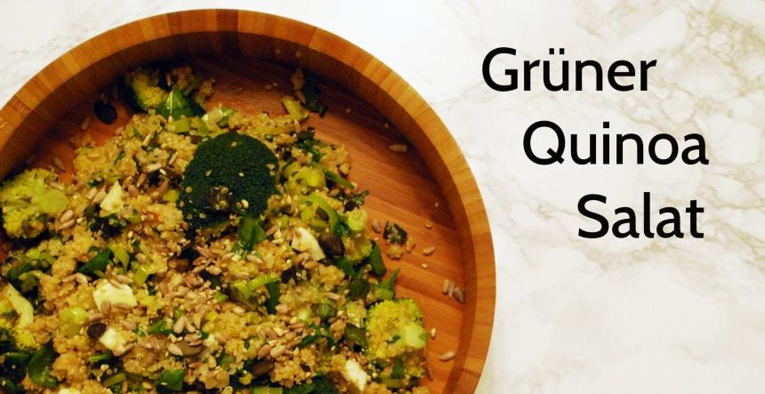 Grüner Quinoa Salat