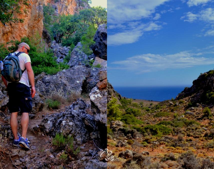 hiking in sougia crete
