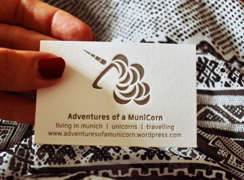 municorn visitenkarten