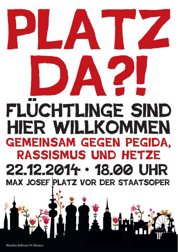´Platz Da! Kundgebung München