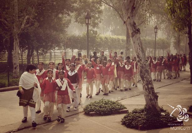 scool class in delhi india