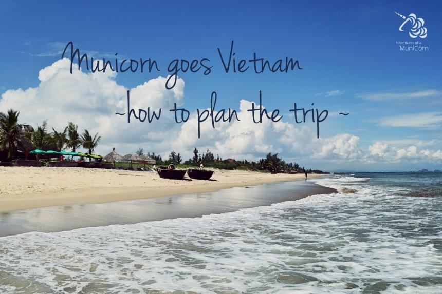Strand in Hoi An, Zentralvietnam