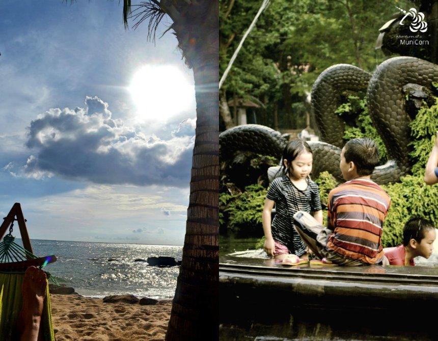 Strandleben auf Phu Quoc, Großstadtkinder in Hanoi