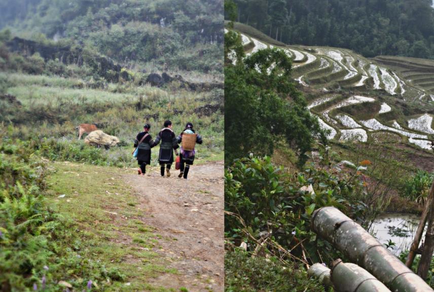 Trekking in Sa Pa, Vietnam