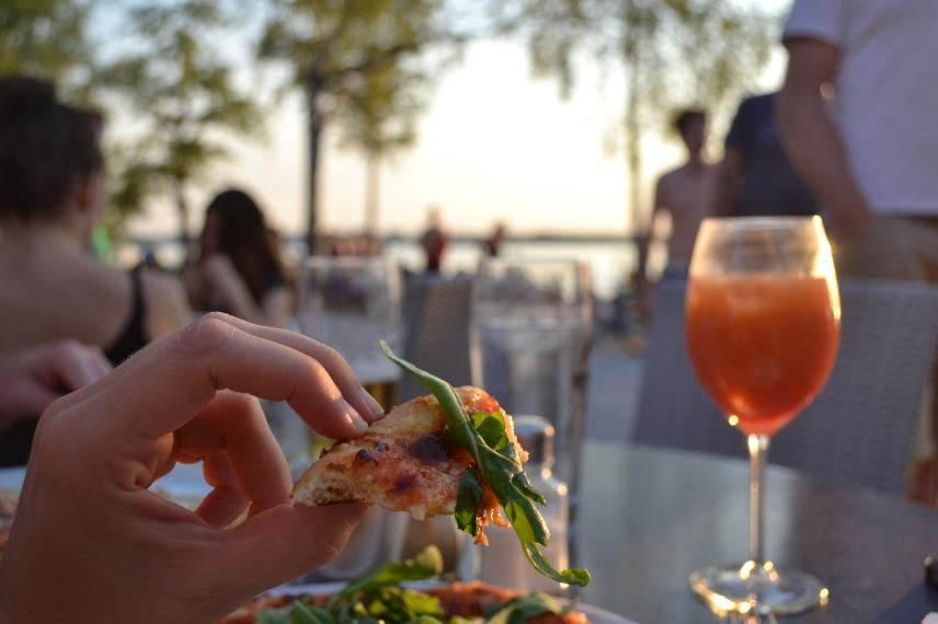Pizza und Campari Il kiosko Wörthsee