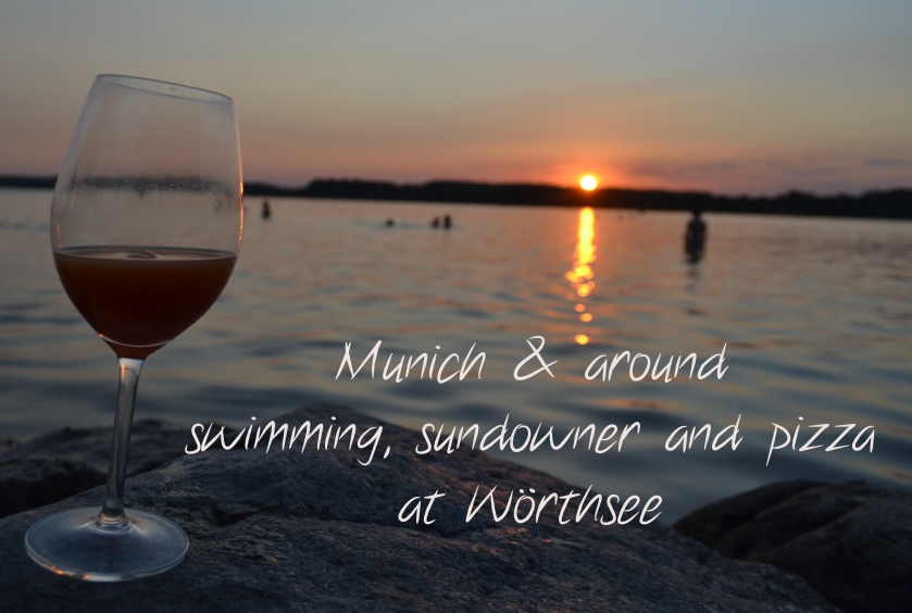 Swimming Sundowner and Pizza at Wörthsee