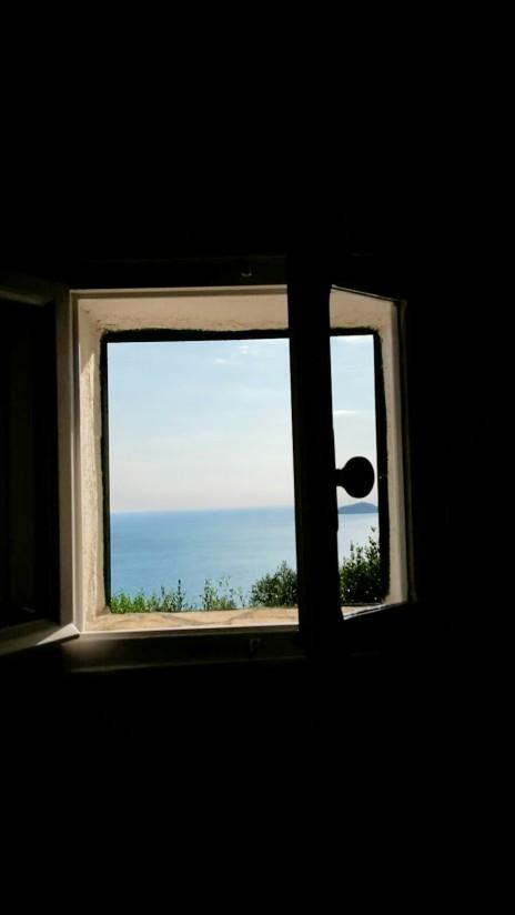 Blick aus dem Schlafzimmer Tellaro
