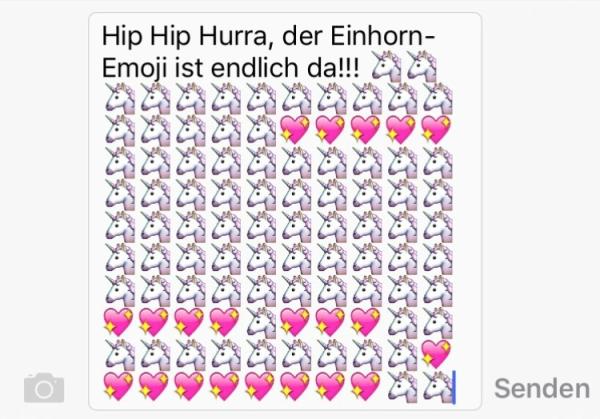 Einhorn Emoji2
