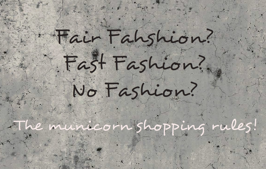 my shopping rules