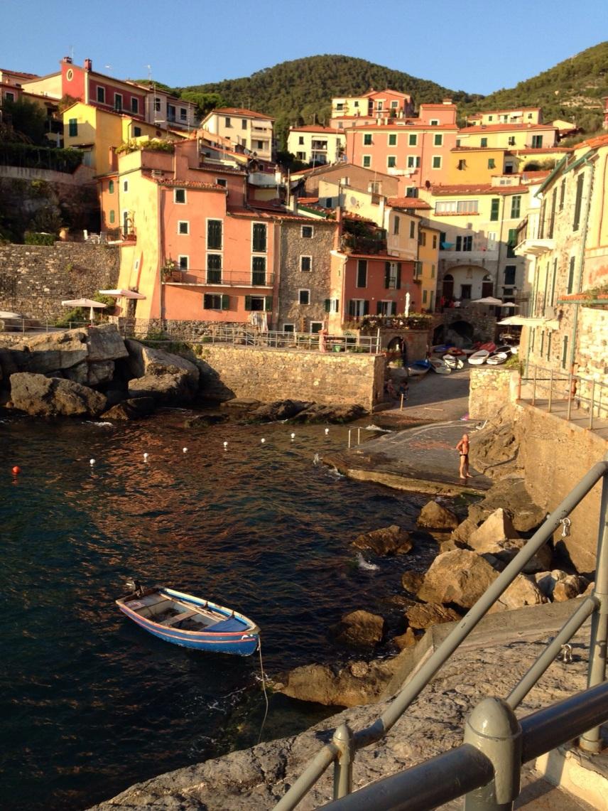 Sunsettime in Tellaro Liguria
