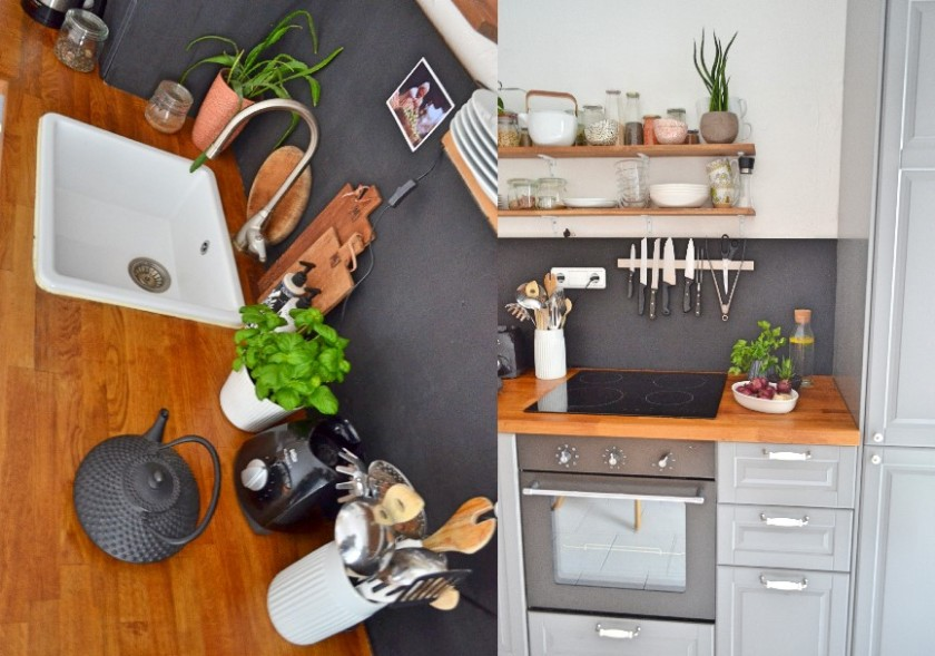 my kitchen greens urban jungle bloggers adventures of a municorn. Black Bedroom Furniture Sets. Home Design Ideas