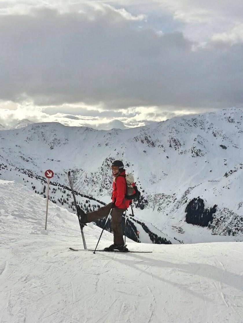skiing in hoczillertal austria tyrol