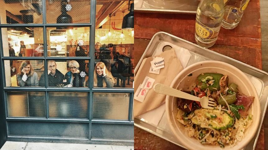 Eine schöne Kombination aus FastFood und BowlRestaurant gibts im Roast Kitchen in New York. Einziger Wermutstropfen: das Einweg-Geschirr