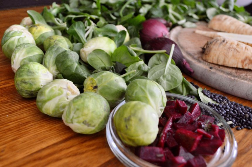 salatrezept celan eating rosenkohl