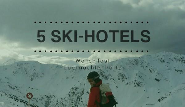 5 Skihotels tipps