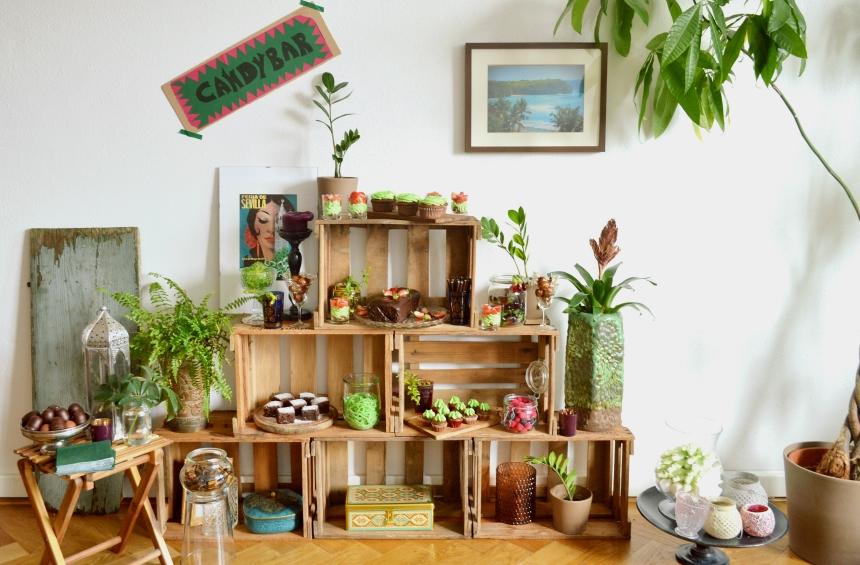 boho inspired sweet table
