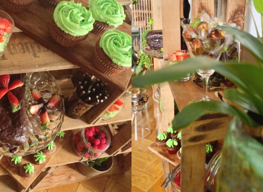 dschungel boho party buffet