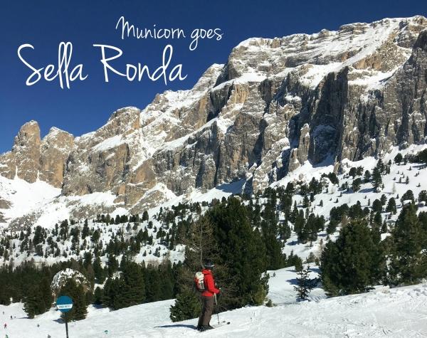 Municorn goes Sella Ronda
