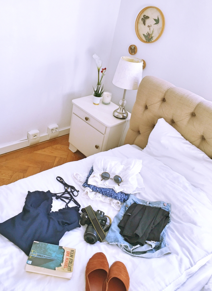 packing for adventures interieur