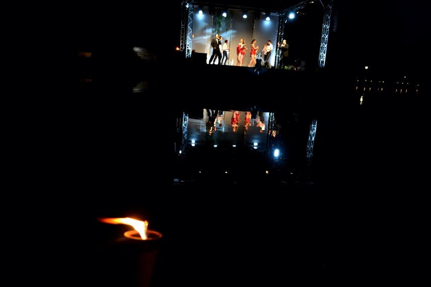 Show Eröffnung Rosentage Baden bei Wien