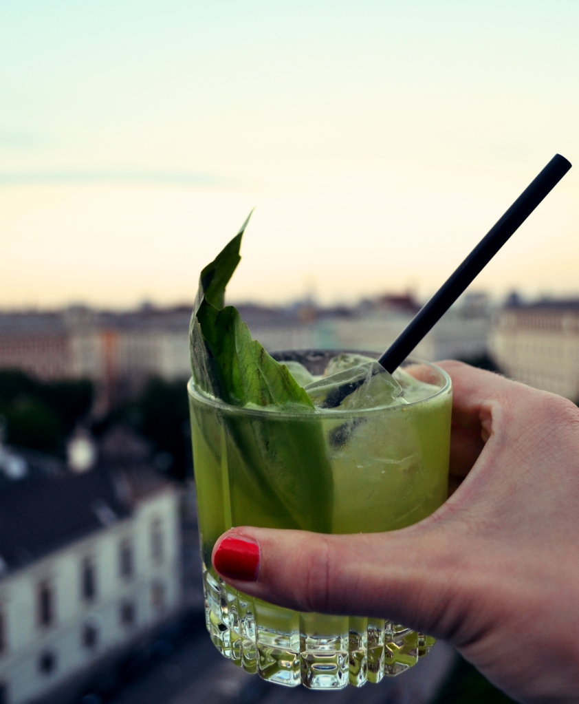 25hours hotel vienna drink rooftopbar