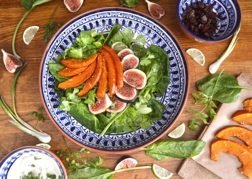 kuerbis-feigen-salat-vegan-for-fit-challengetauglich