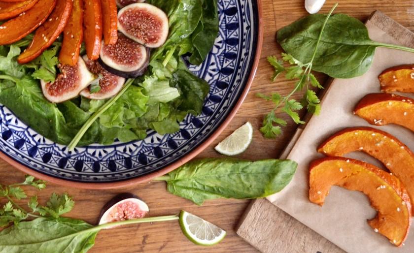 salat-vegan-kuerbis-feige-raeuchertofu