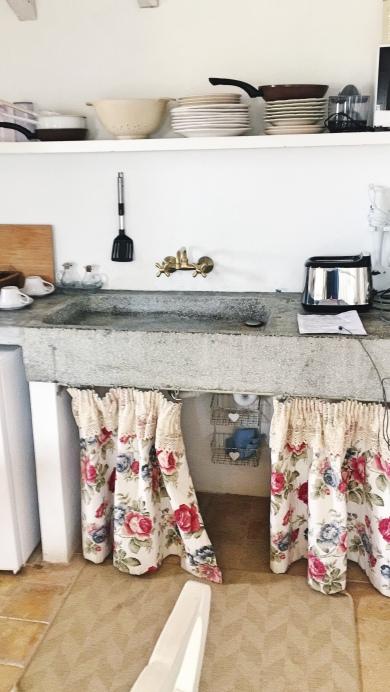 küche loft ses salines mallorca appartment villa station