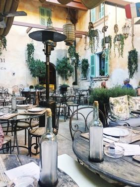Cassai Restaurant Mallorca patio