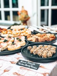 Vegane Snacks Buffet Trockenfrüchte