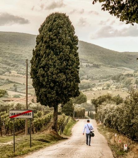 San Gimignano Toskana in September