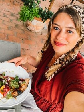 vegane Pizza Lunch agrivilla i pini san gimignano
